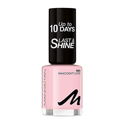 Manhattan Last und Shine Nagellack, Nr.65 Innocent Love, 1er Pack (1 X 10 ml)