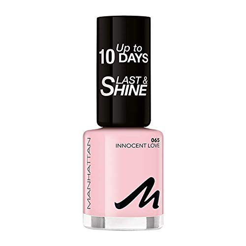 Manhattan Last und Shine Nagellack, Nr.65 Innocent Love, 1er Pack (1 X 10 ml)