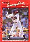 1990 Donruss Baseball Rookie Card #489 Sammy Sosa