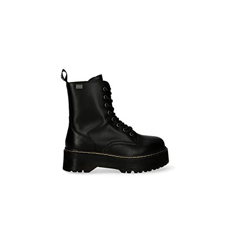 Coolway - Botin Militar Piso Doble Coolway Abby Negro - 41