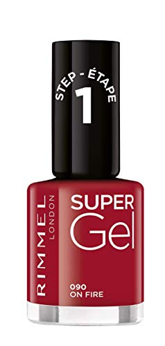 Rimmel London Super Gel Colour Nagellack, 90 ml, Porzellan, 47 g