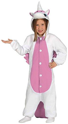Guirca- Disfraz pijama unicornio, Talla 10-12 años (87641.0)