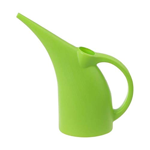 LCK Plastic Large Capacity Long Spout Kettle Watering Can Flower Plant Watering Pot Sprinkler Home Garden,Green