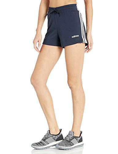 adidas Women's Essentials 3s Shorts, Legend Ink/White, Small