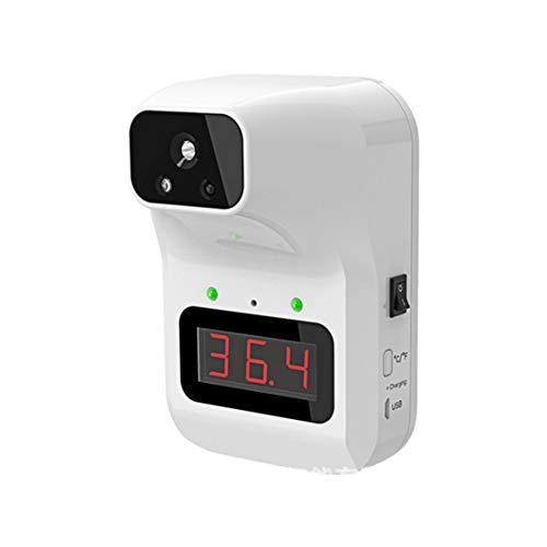 Termómetro De Cuerpo De Pared, Escáner De Temperatura Automático Termómetro Digital Termómetro De Fiebre De La Frente Infrarrojos Para Niños Para Niños Adultos Blancos