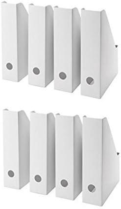 Ikea Lot De 16 Range Revues Fluns Blanc Lot De 8 Pack Of 36 Amazon Fr Fournitures De Bureau