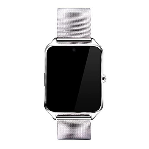 GWN Reloj Inteligente Monitor de sueño Cámara remota Rastreador de Ejercicios Recordatorio de SMS Pulsera Deportiva Soporte Tarjeta Micro-SM TF