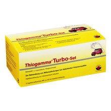 THIOGAMMA Turbo Set Injektionsflaschen 250 Milliliter