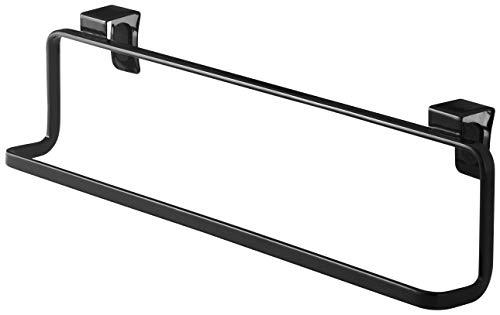 YAMAZAKII Hook Handtuchhalter, Stahl, Schwarz, One Size