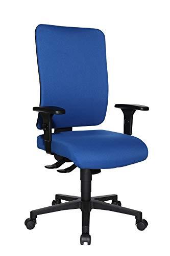 Topstar Open X (P) - Sedia girevole da ufficio, con rivestimento in tessuto, misura unica