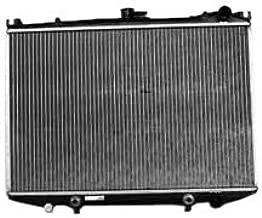 TYC 314 Nissan 1-Row Plastic Aluminum Replacement Radiator