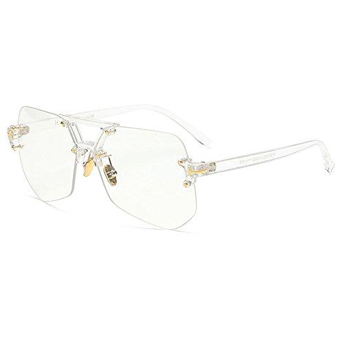 SHEEN KELLY INS Damen Herren Streber brille Klassische Mode Retro Brille Oversized Fett Large Square Frame Transparent Keyhole Nerd Geek Stil Vintage Klare Linse
