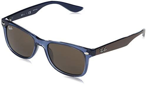 Ray-Ban 0RJ9052S Gafas, Transparent Blue, 47 Unisex