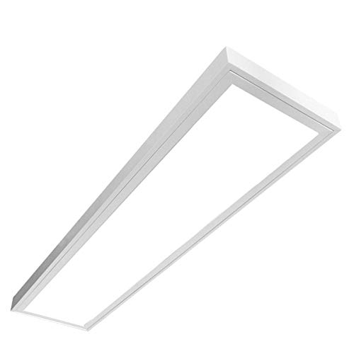LED Panel 75W, LED Deckenleuchte LUNA, Anbau, Prisma, 3x25W, 150cm, Tageslicht (4000-4500K), T8, EEK:A+, LED Rasteranbauleuchte, Deckenleuchte, Büroleuchte, Bürobeleuchtung