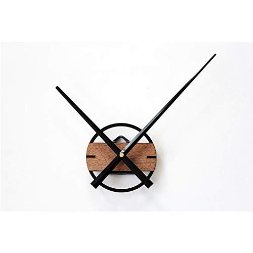 ZRSZ Creative Graffiti Wall Clock, DIY 3D Relojes De Pared Diseño Moderno Relojes De Pared De Madera, para La Cocina Hogar Oficina Sala De Estar Dormitorio