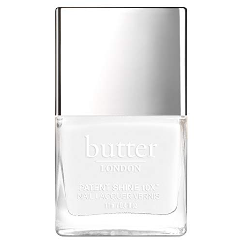 butter LONDON Cotton Buds Patent Shine 10X Nail Lacquer, 0.4 fl. oz.