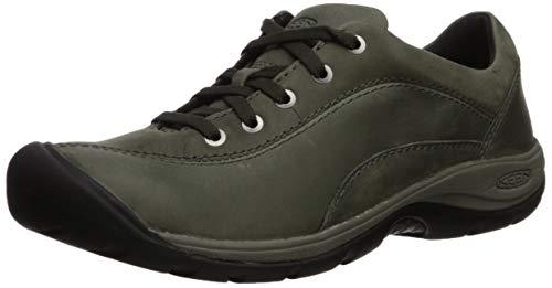 KEEN Women's Presidio II Hiking Shoe, Climbing Ivy/Black, 7 M US