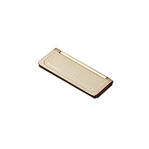 Möbelgriff New Chinese Cabinet Drawer Brass Handle modern Minimalist Wardrobe Door Gold Handle Nordic Cabinet Light Luxury Single