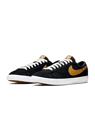 Nike SB Zoom Blazer Low GT Men's Shoes - 704939 (9.5 M US, Black/Wheat-Summit White)