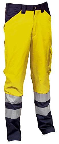 Cofra ENCKE Arbeitskleidung Hosen, Gelb / Marine, 4XL, V291-0-03A