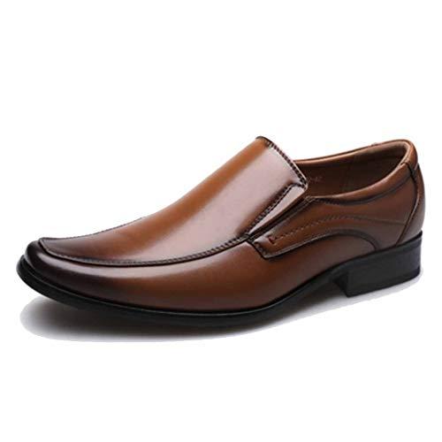 Zapatos de Vestir para Hombres Negro Marrón Vintage Bajas Planas Banquete de...