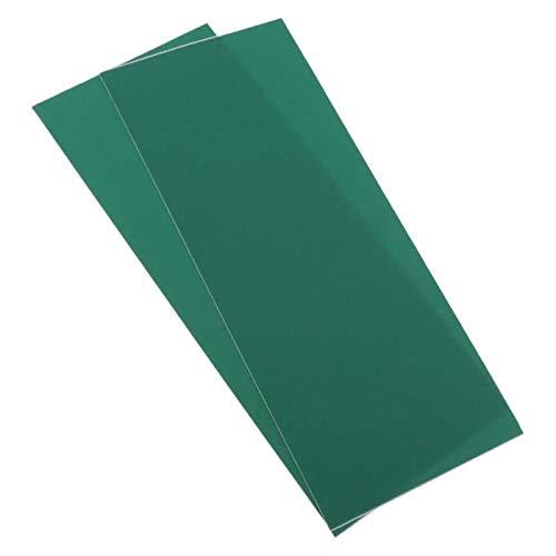 YMLOVE Juego de 2 parches de reparación de lona para tienda de campaña, toldo, toldo, lona, impermeable, autoadhesivo, reparación de cintas (verde)