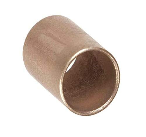 Isostatics 101373-2 AA-838-4 SAE841 Oilube Powdered Metal Bronze Sleeve Bearings/Bushings (Pack of 2)