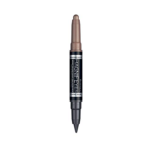 Rimmel Lidschatten & Eyeliner Magnif'Eyes 2-in-1 008 On taupe of the world 1,6 g
