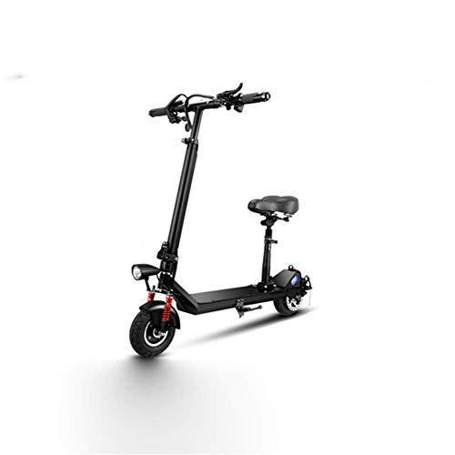 WXDP Cruiser Pro Skateboard,Faltbarer 2-Rad-Elektroroller, 4 Stunden Ladezeit Tragbarer intelligenter Mini, 8,8 Ah Lithiumbatterie-Skateboard-Roller für Erwachsene mit großer Kap