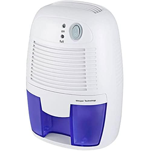 DMDMJY - Deumidificatore per famiglie, piccolo deumidificatore, con un solo tasto, mini deumidificatore per camera da letto, cucina, studio, bagno