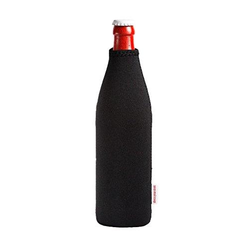 DRESS-YOUR-DRINK Neopren Flaschenkühler Getränkekühler Bierkühler (0.5 Liter)