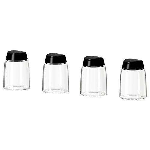 IKEA 365+ IHARDIG Gewürzglas schwarz