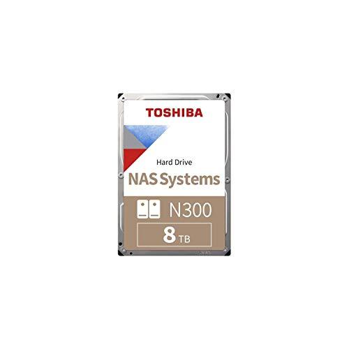 Toshiba N300 NAS Hard Drive 8TB 3,5p