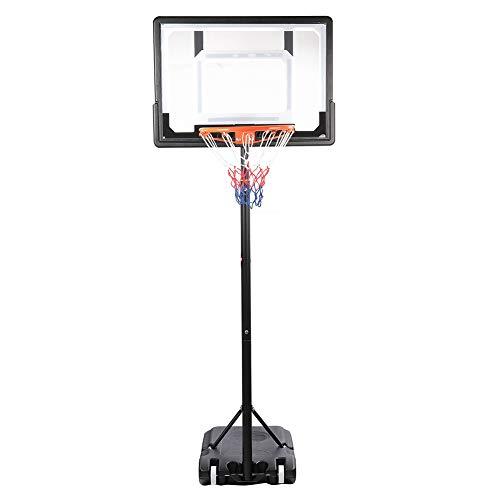 KUIDAMOS Aro de Baloncesto extraíble, Aro de Baloncesto Ajustable para Actividades en Interiores al Aire Libre, Soporte de Baloncesto Entrenamiento Aro de Baloncesto