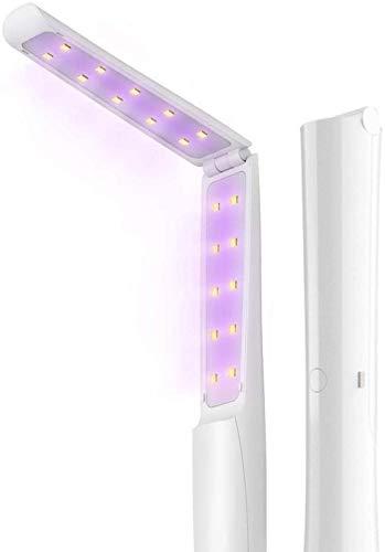 UV Light Sanitizer Wand - Cordless Rechargeable Portable Lightweight...