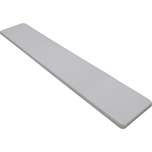 Inter-Fab DB8-9 Diving Board Replacement for In-Ground Pools, Duro-Beam, Gray