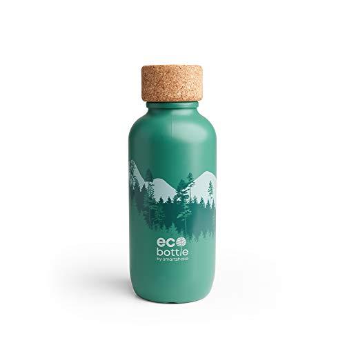 Smartshake Smartshake EcoBottle 650 Water Bottle, Forest, 0.07497 kg