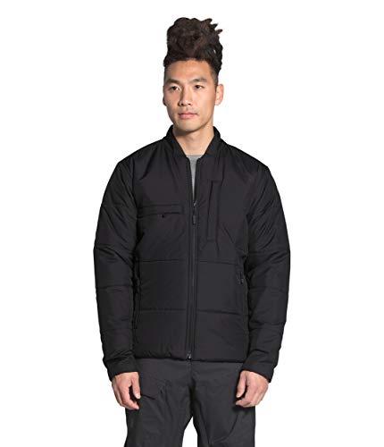 The North Face Men's Powderflo Insulated Mid-Layer Jacket, TNF Black, L