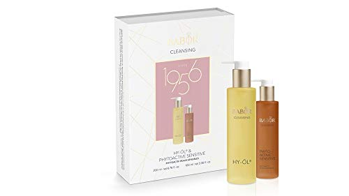 BABOR CLEANSING Hy-Öl & Phytoactive Sensitive Set, Jubiläums-Collection, Reinigungs-Duo, für empfindliche Haut, 2 Teile