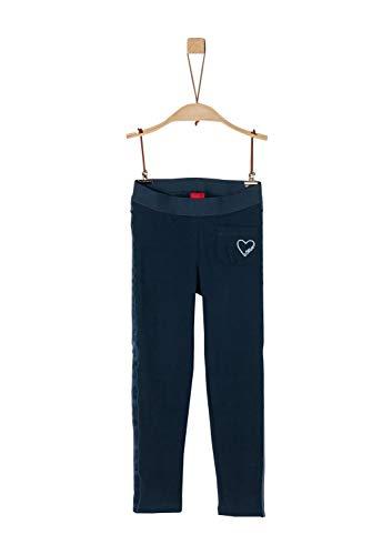 s.Oliver Mädchen 53.909.75.5066 Leggings, Blau (Dark Blue 5952), (Herstellergröße: 98/REG)