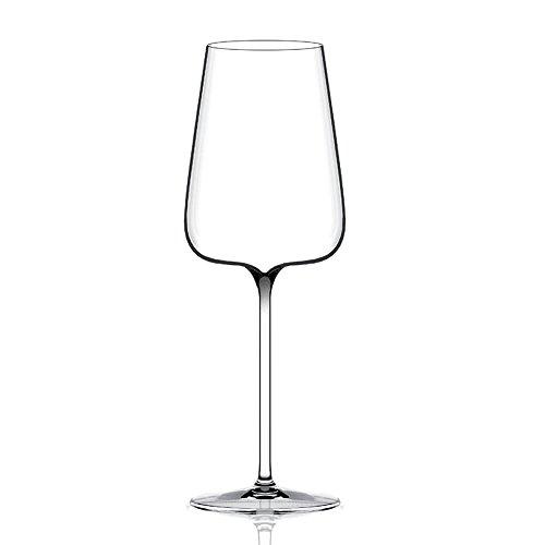 Italesse Etoilé Blanc Excellence, Verre à pied pour vin blanc cc. 550 transparent