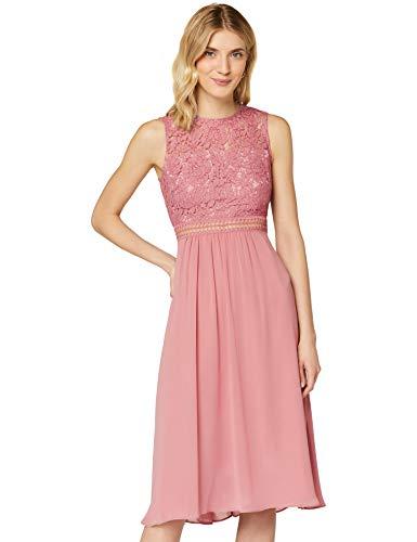 Amazon-Marke: TRUTH & Fable Damen brautkleid, Rosa (Nostaligia Rose), 38, Label:M