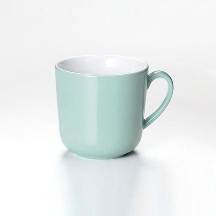 Dibbern Solid Color Becher mit Henkel 0,32 l türkis