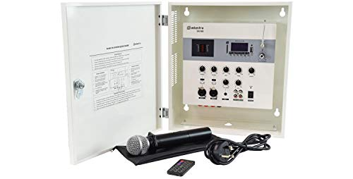 Price comparison product image Adastra / Secure Wall Mixer-Amplifier With Wireless Microphone & Remote