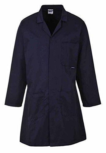 Portwest Hygiene & Warehouse Coat Multiple-pockets Vented Large Navy Ref 2852LGE Nvy