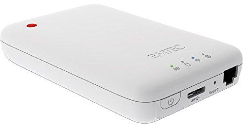 Emtec ECHDD500P600 Movie Cube Wi-Fi HDD 2,5 P600 500GB USB 3.0 weiß