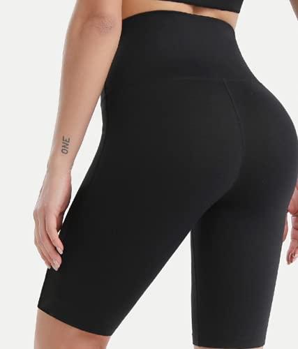 Nupcknn Pantalones Cortos Deportivos para Mujer Pantalones Cortos de Yoga Morado