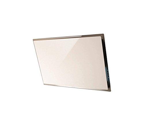 Elica Elle WH/F/80 Dunstabzugshaube (Umluft, 650 m³/h, 43 dB, Wandmontage, LED, weiß)