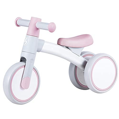 Bicicleta sin Pedales, Bici sin Pedales Niño,Triciclos Bebes Correpasillos para Ejercitar la Capacidad de Equilibrio de Niños,Bebes para Niños y Niñas 1-3 Año Regalo Ju(Size:59*36*24,Color:Tao Yang |)