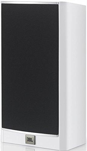 JBL Arena 180 Altavoz Amplificado Doble de 2-vías de 7 Pulgadas (178 mm) para Suelo, Color Blanco